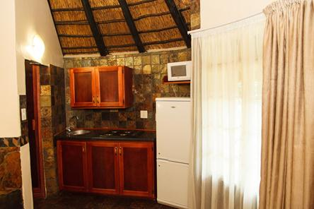 Badplaas, A Forever Resort: 2-Sleeper Rondavel. Open plan (1 double bed)